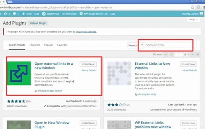 Open External Plugin