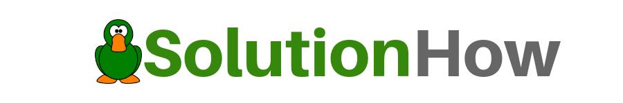 SolutionHow