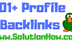 101+ Profile Backlinks