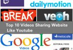 Top 10 videos sharing website like youtube