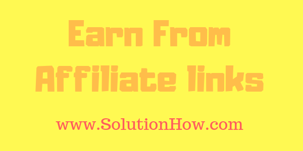 Earn from Facebook Affiliate Marketing