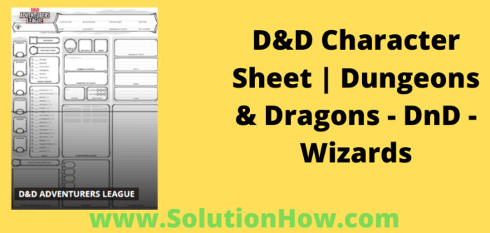 D&D Character Sheets Dungeons & Dragons - D&D - Wizards