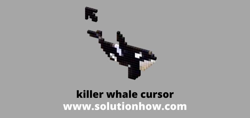 killer whale cursor