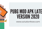 PUBG MOD APK Latest Version 2020