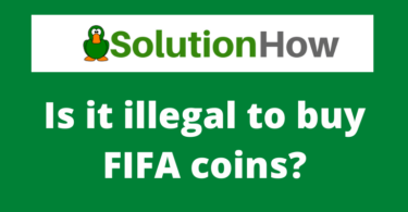 Is it illegal to buy FIFA coins