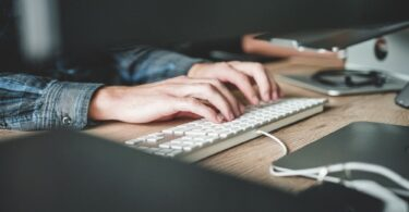 Typing in Keyboard