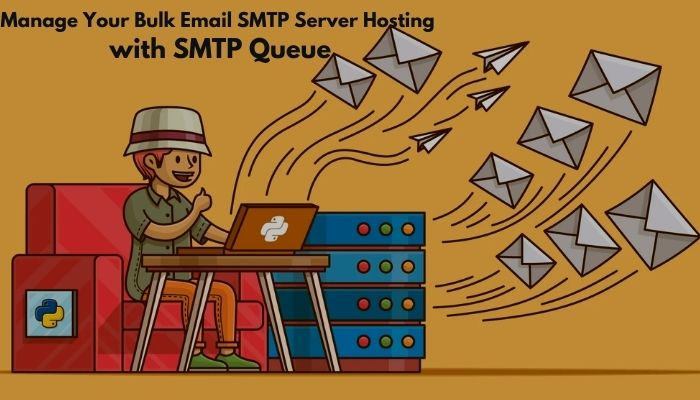 bulk email smtp server hosting