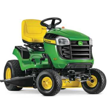 Riding(Tractor type) lawn mowers