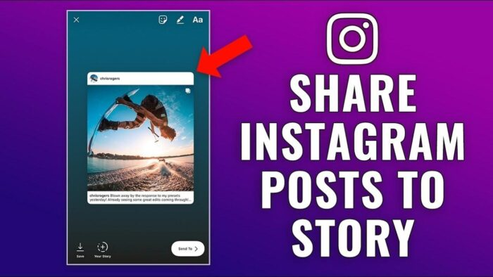 Share Instagram Posts to Your Story