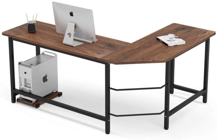 Tribesigns L-Shaped Gaming Desk,Corner Computer Desk