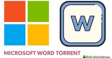 Microsoft Word Torrent