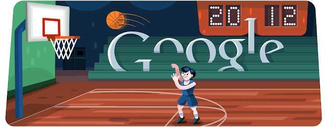 Basketball 2012 - jogos conhecidos do google doodle