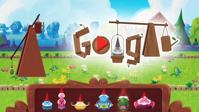 Garden Gnomes - jogos conhecidos do google doodle