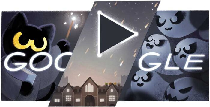 Magic Cat Academy Halloween 2016 - jogos conhecidos do google doodle