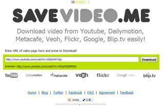 Savevideo.me Dailymotion video downloader.