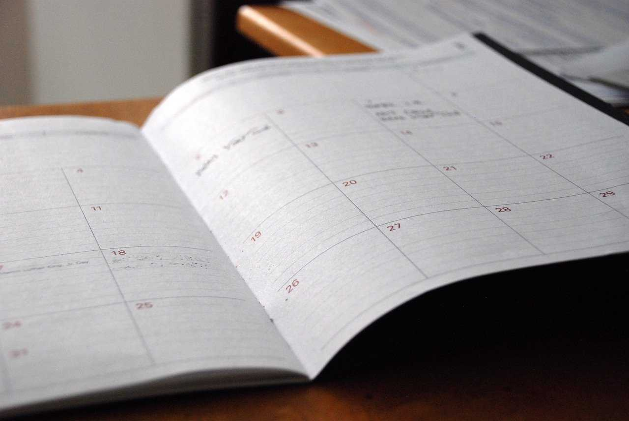 Guidelines for creating a study timetable