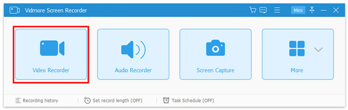select video recorder