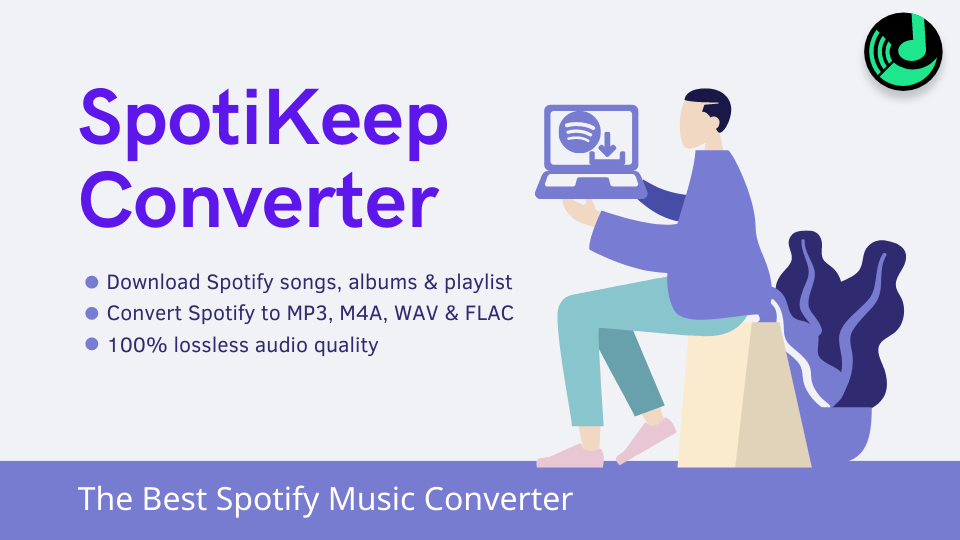 spotiKeep converter banner features